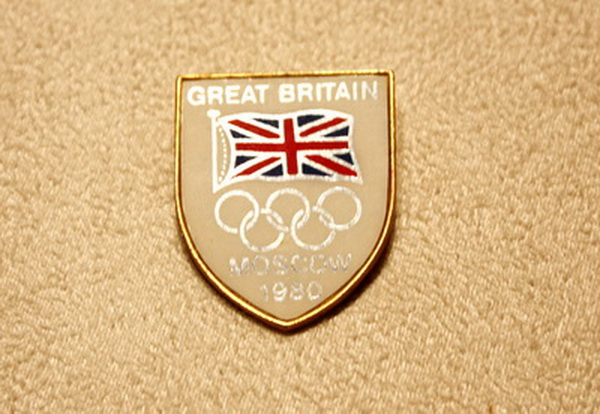 1980 Mexico Olympic Games British Delegation Commemorative Badge