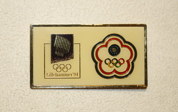 1994 Lillehammer Winter Olympic Games Badge