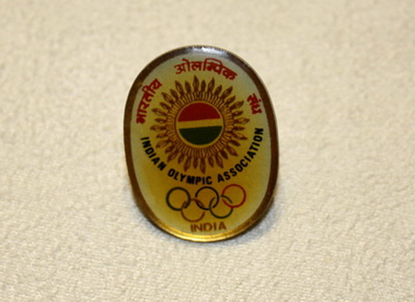 India Olympic Commemorative Badge